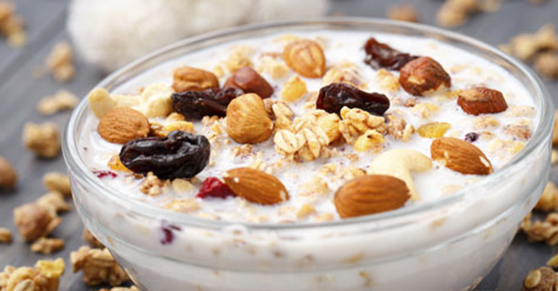 Noci a colazione: alimentazione per combattere il caldo - Nuts for breakfast: food against heat and stress