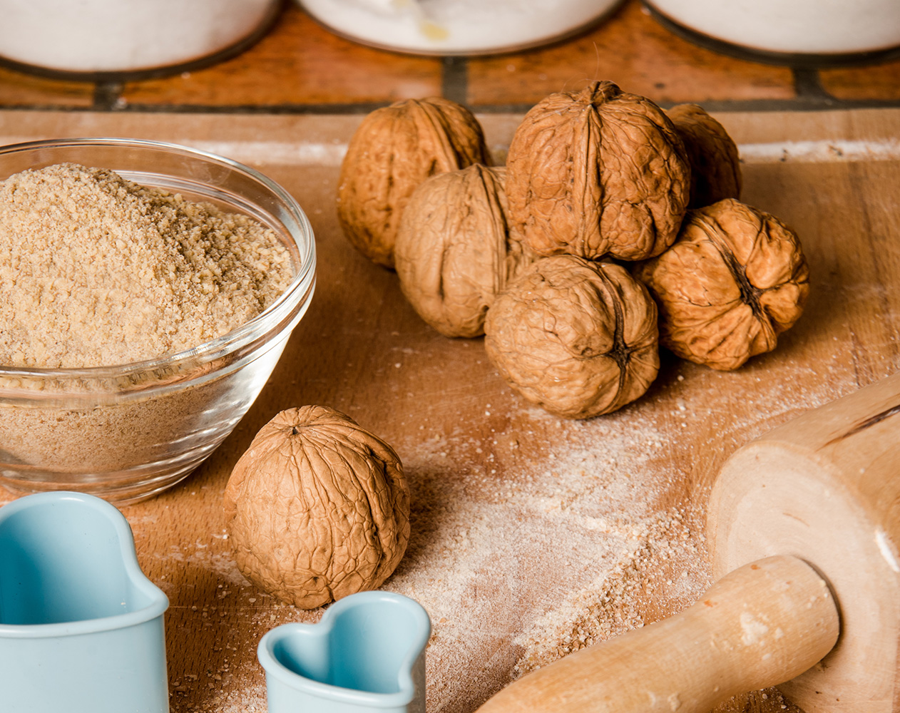 Farina di noci vendita online - Walnut flour for sale