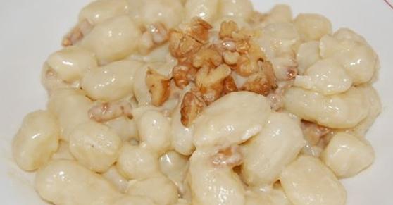 Gnocchi brie e noci - Brie and walnut gnocchi